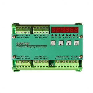 Giant204-4 Channel Weighing Module, RS485&RS232, Modbus